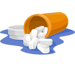 hydrocodone Pill bottle