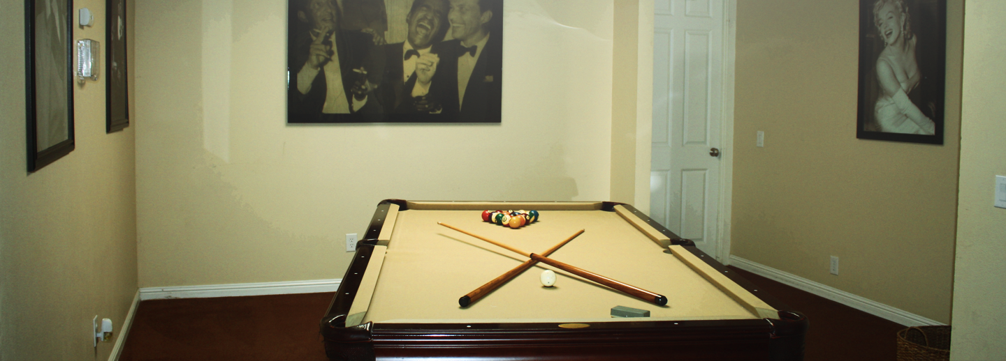 axis east pool table